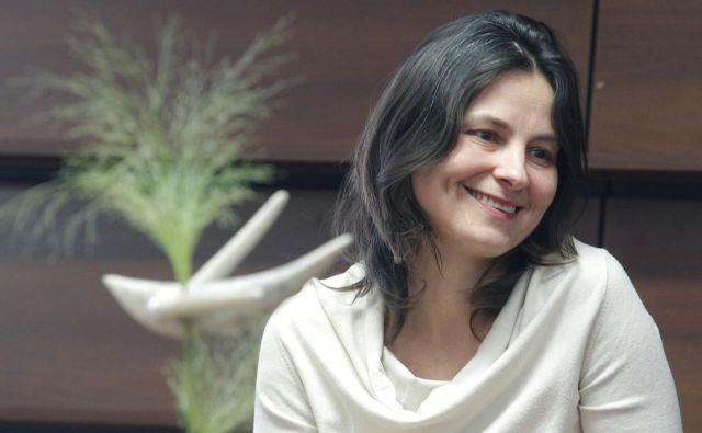 Simona Semenič je večkrat nagrajena pisteljica dramskih besedil. FOTO: Mavric Pivk/Delo