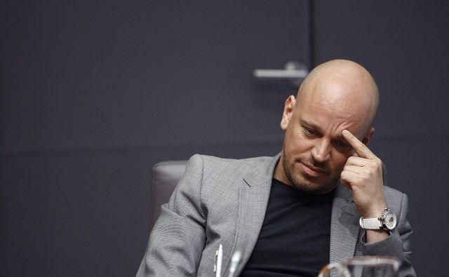 Damijanu Jankoviću tožilstvo očita pomoč pri ponarejanju listin, zanj pa predlaga denarno kazen, saj ocenjuje, da bo namen kaznovanja s tem najbolje dosežen. FOTO: Aleš Černivec/Delo