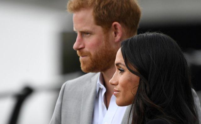 Zakonca si želita življenje urediti med Kanado in Veliko Britanijo. FOTO: Reuters