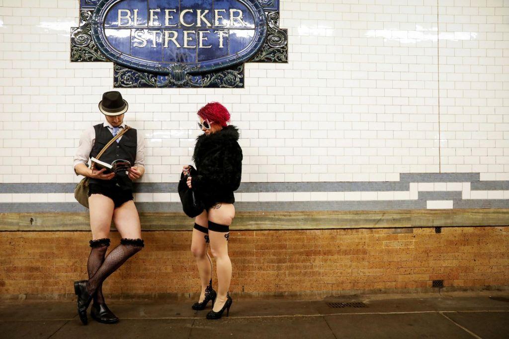 FOTO:Svetovni dan brez hlač