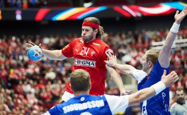Mikkel Hansen se z Dansko še ni veselil zmage. FOTO: Reuters