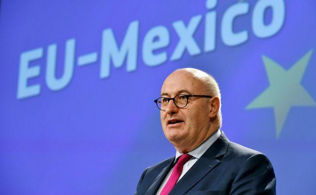 Trgovinski komisar EU <strong>Phil Hogan</strong> se bo moral še dokazati v pogajanjih z ZDA.