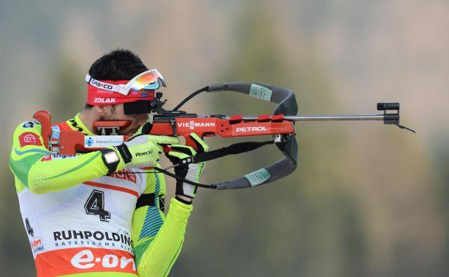 Jakov Fak že vrsto let nastopa v Ruhpoldingu, meki biatlona na Bavarskem. FOTO: AFP