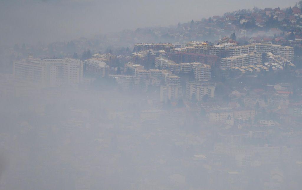 FOTO:Najbolj je umazano nebo nad Sarajevom
