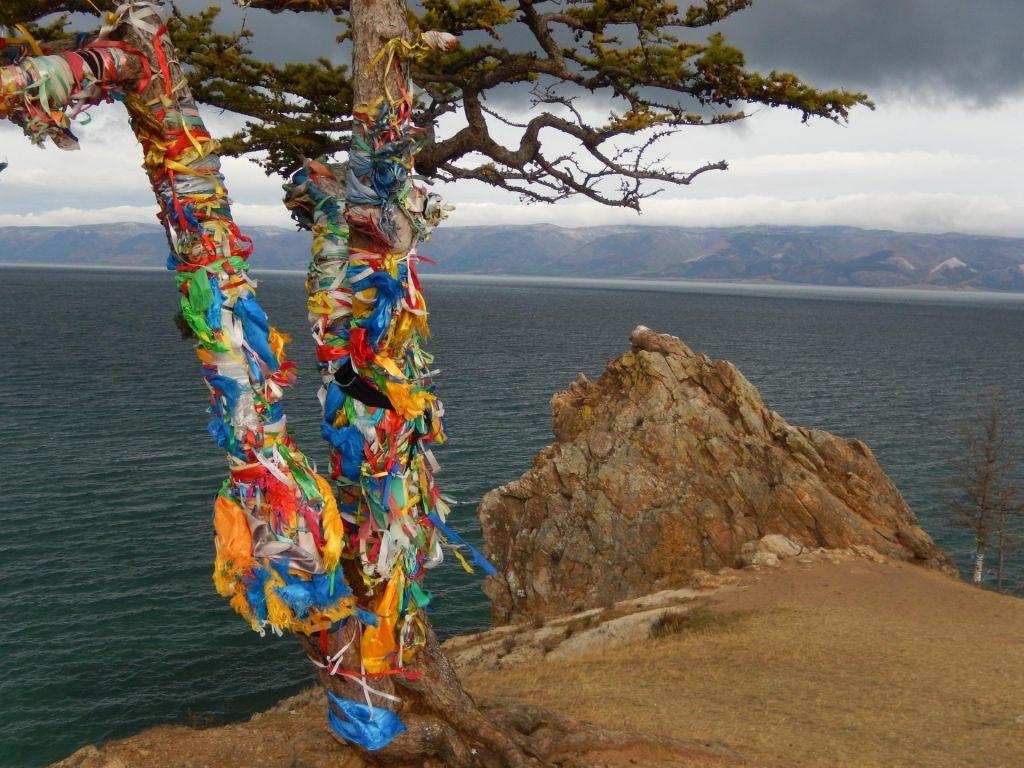 FOTO:Slikovita monotonija tajge in silovita moč Bajkalskega jezera