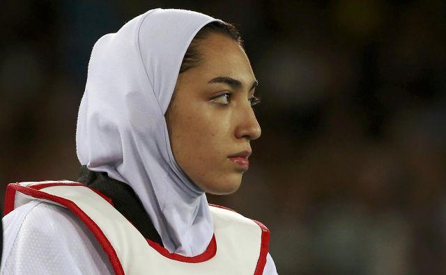 Enaindvajsetletna Kimia Alizadeh bo odslej živela na Nizozemskem. FOTO: Reuters