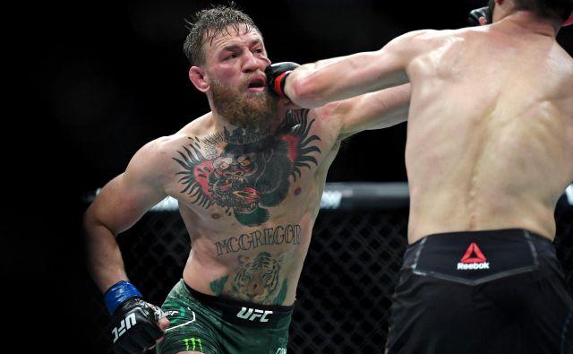 Conor McGregor ne dvomi, da bo premagal»kavboja«. FOTO: Usa Today Sports