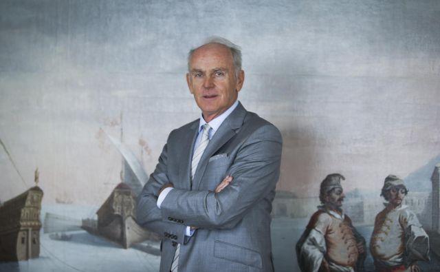 Predsednik NS Krke Jože Mermal: Krka je mednarodna družba in se ne more igrati z ugledom. Foto Jože Suhadolnik
