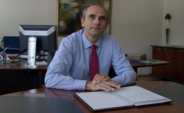Novi dekan fakultete za tehnologijo polimerov Blaž Nardin želi še povečati sodelovanje z gospodarstvom. Fotodokumentacija Dela