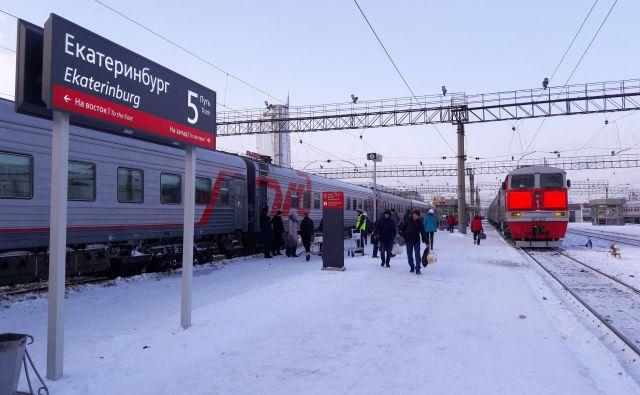 Prvi postanek: Jekaterinburg, središče uralskega zveznega okrožja FOTO: Alen Steržaj