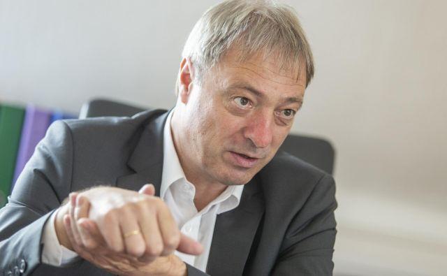 Celovški odvetnik Rudi Vouk svari pred posledicami razveljavitve sodbe Leonu Rupniku, ki so škodljive za Slovenijo. FOTO: Voranc Vogel/Delo