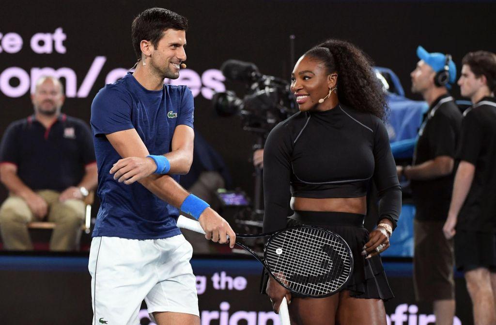 Serena Williams tudi z dragocenimi nasveti Mika Tysona