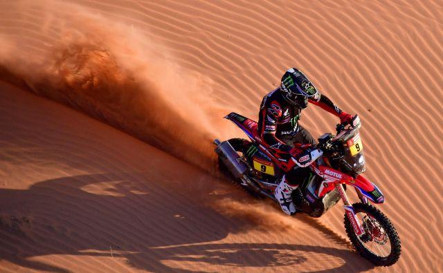 Ricky Brabec je prvi Američan, ki je slavil zmago na reliju Dakar. FOTO: AFP