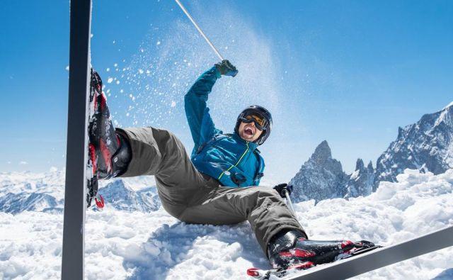 Podobno kot pri profesionalnih smučarjih velja tudi za rekreativno področje, da so najpogostejše poškodbe kolena in najpogostejša diagnoza je ruptura sprednje križne vezi (anterior cruciate ligament, ACL). Foto: Shutterstock