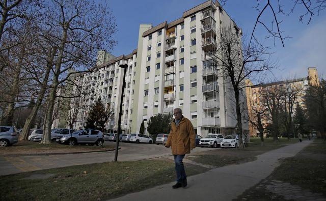 Največ energetsko obnovljenih blokov, ki so tudi na pogled lepši, je zanesljivo v Ljubljani. FOTO: Blaž Samec/Delo