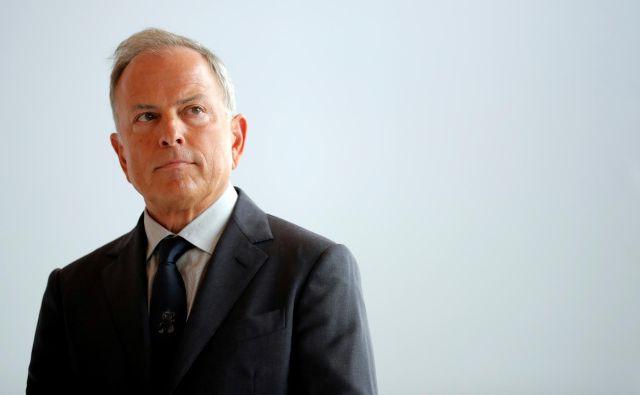 Michael Burke je zadnjih osem let na čelu Louis Vuittona. Foto Reuters