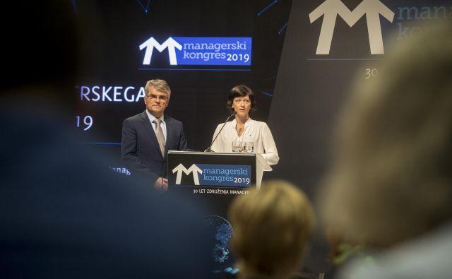 Aleksander Zalaznik je združenje vodil šet let, Saša Mrak Hendrickson pa je bila izvršna direktorica dve leti. FOTO: Voranc Vogel/Delo