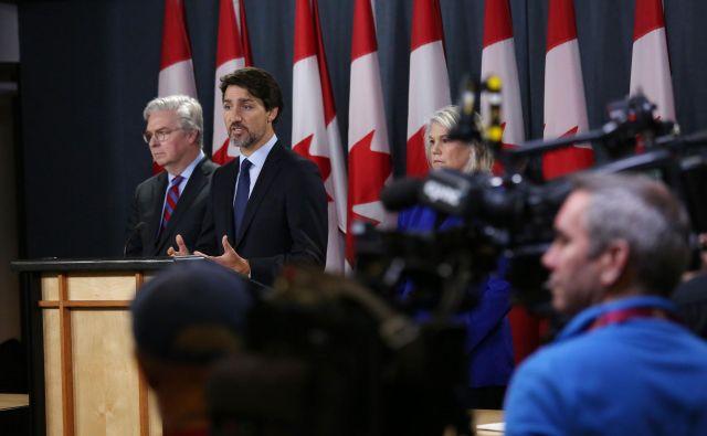 Kanadski zunanji minister Justin Trudeau. FOTO: Dave Chan/AFP