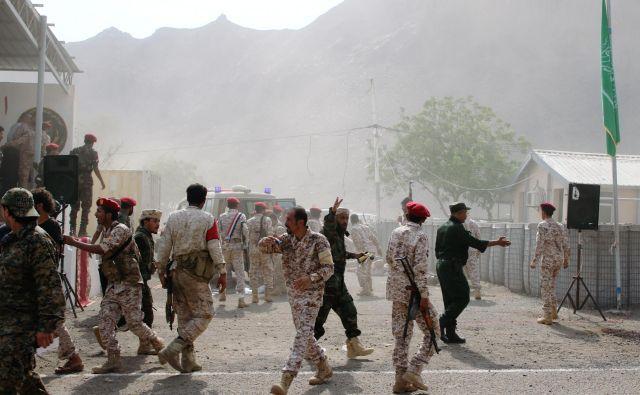 Oboroženi spopadi v Jemnu so zahtevali več tisoč življenj. Trajajo od eta 2015. FOTO: Fawaz Salman/Reuters