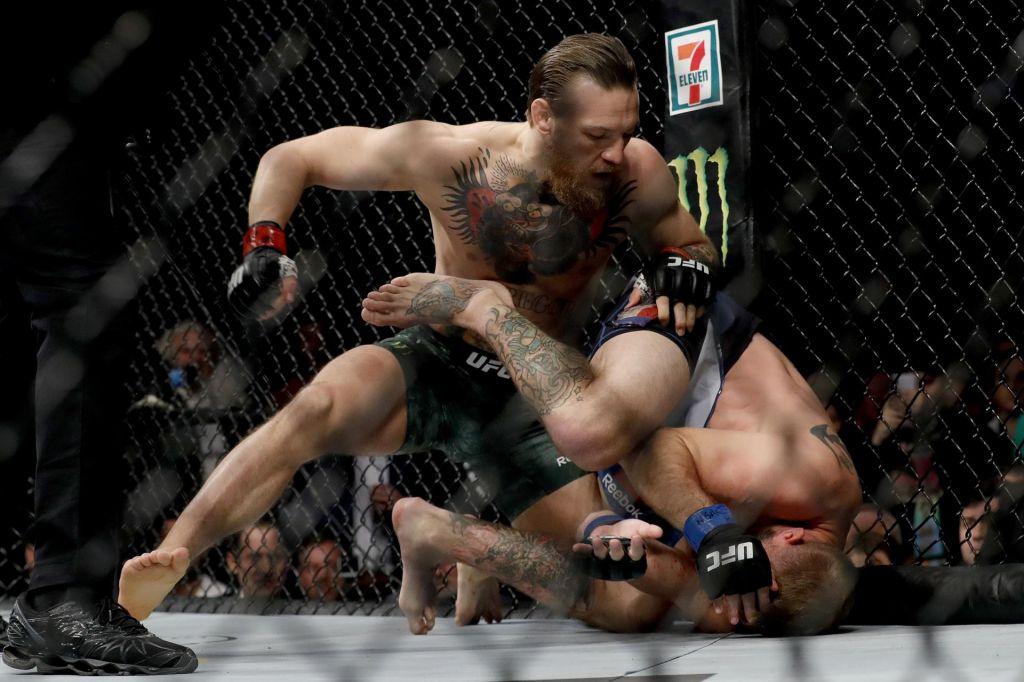 McGregor uprizoril pravi »blitzkrieg« v Las Vegasu (VIDEO)