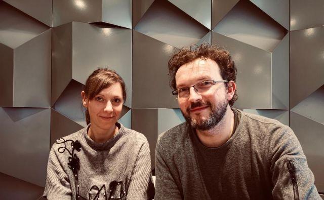 Marta Bartolj in Peter Škerl FOTO: Osebni Arhiv
