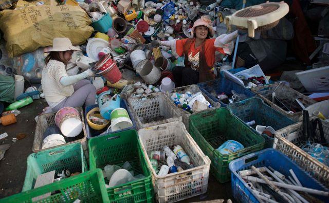 To ni prva kitajska kampanja proti rabi plastike. FOTO: Nicolas Asfouri/AFP