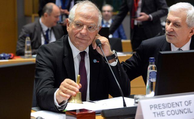 »Premirje ne more delovati samo,« je poudaril visoki zunanjepolitični predstavnik EU Josep Borrell. Foto: Reuters