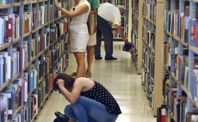 Projekt poteka že v 21 knjižnicah po vsej Sloveniji, vsako leto se pridruži kakšna nova. Foto Aleš Černivec