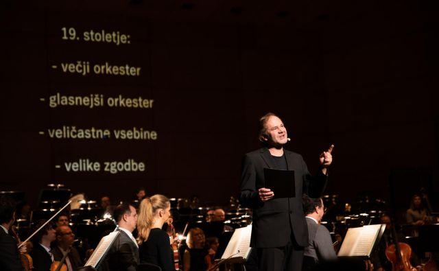Simfonična matineja Glasbene mladine Slovenije v Cankarjevem domu z Orkestrom Slovenske filharmonije in moderatorjem Juretom Ivanušičem Foto Eva Križaj