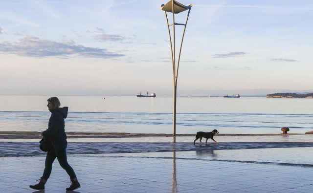 Morda smo izgubili tisto največ, stik z odprtim morjem. FOTO: Jože Suhadolnik/Delo