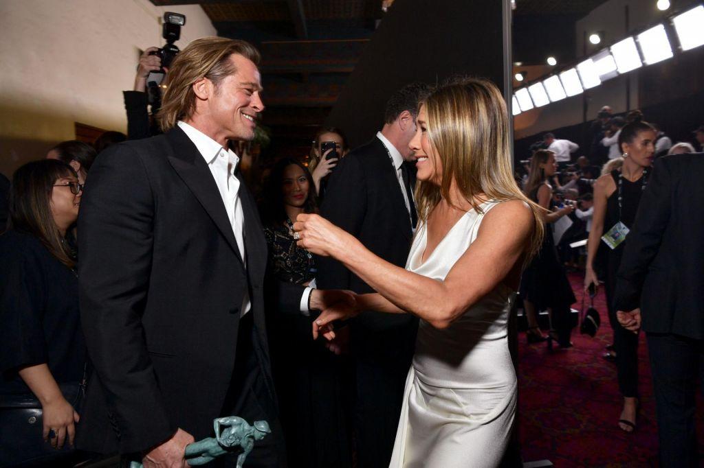 Brad Pitt in Jennifer Aniston: stara ljubezen zlepa ne zarjavi