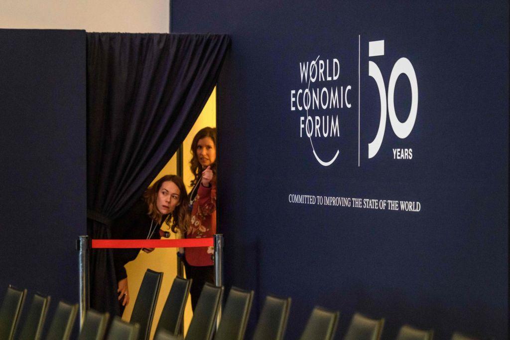 FOTO:Davos 2020: smučišče navzgor