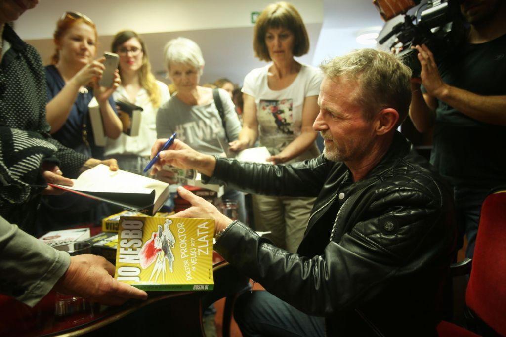 Jo Nesbø: Neizprosen do lastnih junakov in bralcev