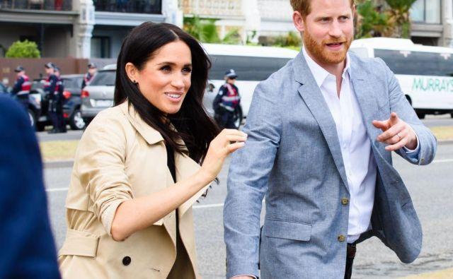 Meghan in Harry, ki se je soprogi v Kanadi pridružil v ponedeljek, tam obračata nov list v življenju po odločitvi o umiku od kraljeve družine. FOTO: Shutterstock