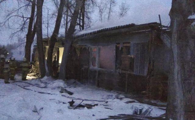 Nesreča se je zgodila na oddaljenem območju Sibirije, žrtve so potrdili na ruskem ministrstvu za nesreče. FOTO: AFP