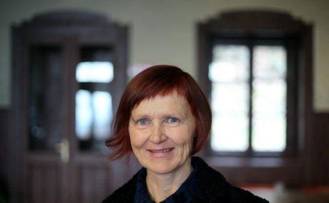 Suzana Koncut je letošnja prejemnica nagrade Prešernovega sklada za prevode francoskih literarnih in teoretskih besedil, nastalih v zadnjih treh letih. FOTO: Jože Suhadolnik