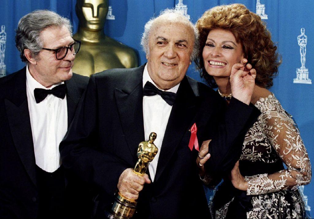 FOTO:Federico Fellini: Eden največjih filmarjev vseh časov