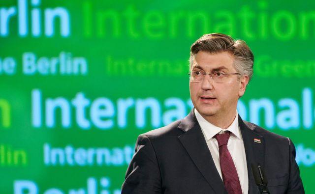 Po mnenju hrvaškega premiera je ključ v kohezijski politiki in subvencijah za kmetijstvo, ki bi zmanjšaleneenakost znotraj EU.FOTO: Annette Riedl/AFP