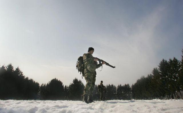 Primerjati poklicno in naborniško vojsko ni prav smiselno, ponovna uvedba naborništva pa ne bi bila poceni. FOTO: Jure Eržen