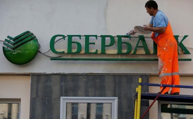Tiskovna agencija RIA poroča, da namerava ruska vlada od centralne banke pridobiti njen večinski delež v Sberbank. Foto Reuters