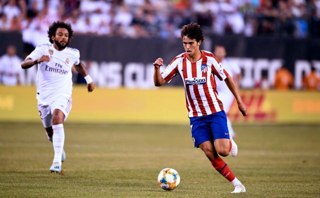 Felix Joao je z rekordnim prestopom vrednim 126 milijonov evrov iz Benfice v Atletico prispeval dobro tretjino v skupno bilanco portugalskega prodajnega iztržka. FOTO: AFP