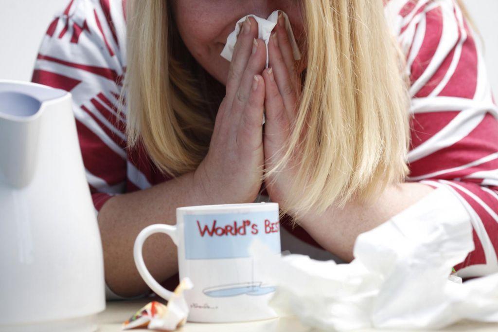FOTO:Kdaj smo preveč bolni za službo ali šolo?