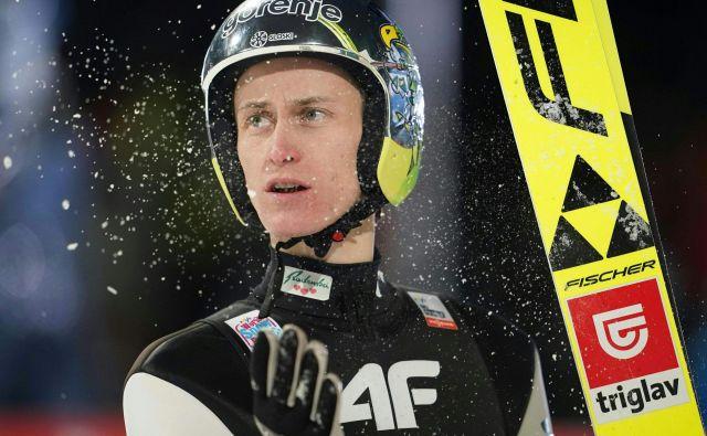 Peter Prevc je radoveden, kako se bo tokrat ujel s skakalnico Wielka Krokiew. FOTO: AFP