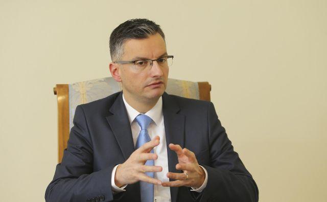 Marjan Šarec, predsednik vlade: »Vnaprej ne bom ničesar komentiral.« FOTO: Jože Suhadolnik