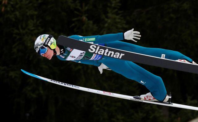 V boj za sam vrh Slovenija ni posegla, saj so bili Nemci in Norvežani premočni. FOTO: Wolfgang Rattay/Reuters
