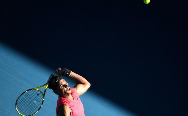 <strong>Nadal</strong> je v tretjem krogu odprtega prvenstva Avstralije v Melbournu brez težav ugnal rojaka <strong>Pabla Carrena. FOTO: AFP</strong>