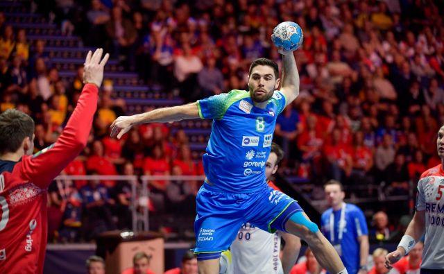 Slovenec Blaž Janc si je prislužil mesto v idealni postavi turnirja. FOTO: Reuters