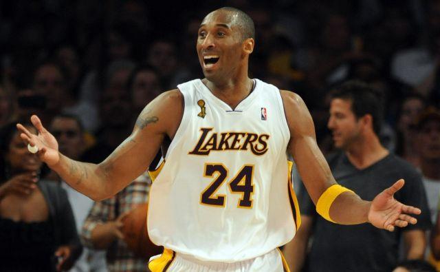 Kobe Bryant bo ostal zapisan v zgodovini športa kot eden najboljših košarkarjev vseh časov. Foto AFP