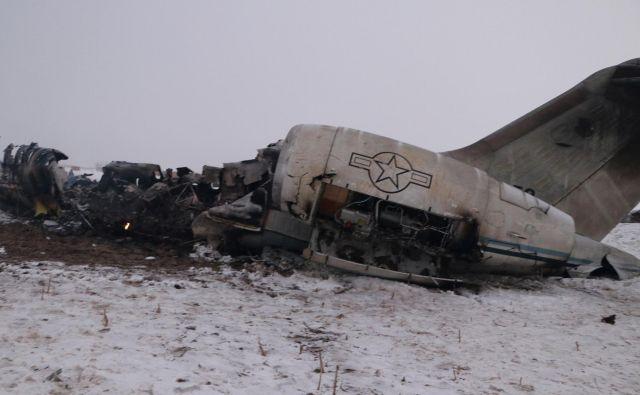 Ameriška vojska je potrdila, da je na vzhodu Afganistana strmoglavilo ameriško vojaško letalo. FOTO: Reuters