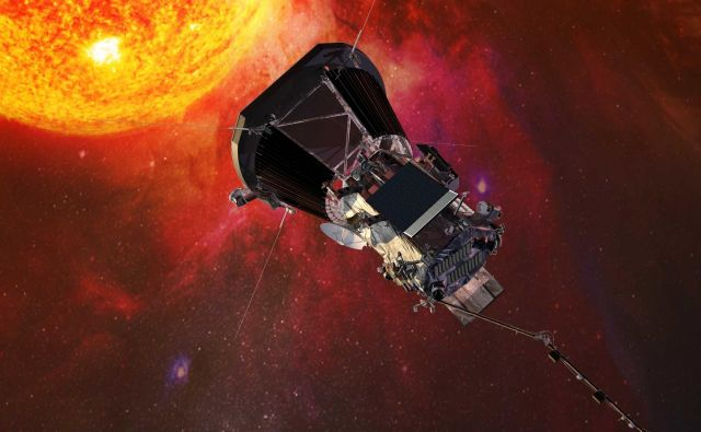 Parker solar probe Foto Nasa Delo